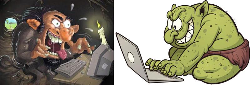 картинки против троллей в интернете тоже обязаны носить