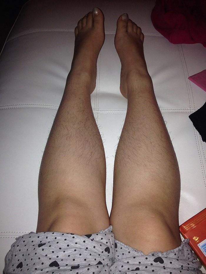 волосатые женские ножки фото любят