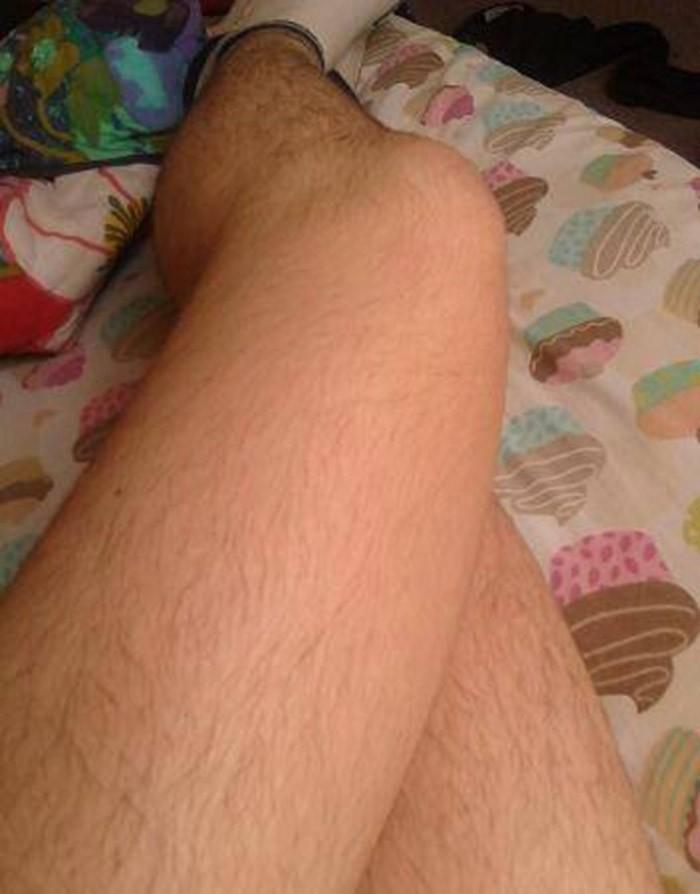 фото женских волосатых ног нужно