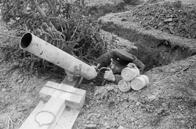Ампуломёт. Великая Отечественная Война, вторая мировая война, необычное оружие