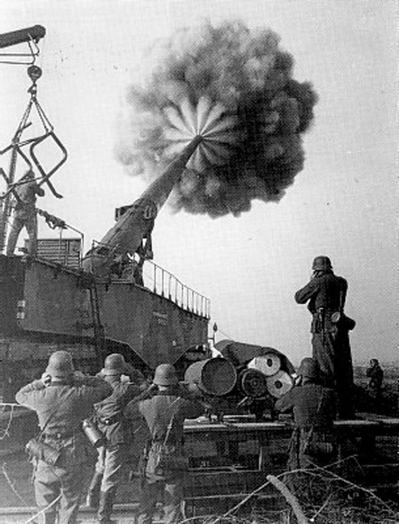 Густав и Дора — крупнокалиберная артиллерия. Великая Отечественная Война, вторая мировая война, необычное оружие