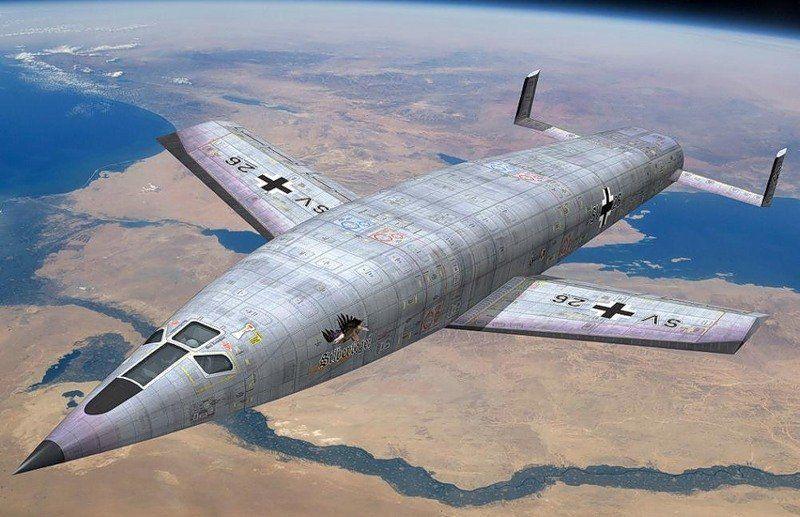 Суборбитальный бомбардировщик. Великая Отечественная Война, вторая мировая война, необычное оружие