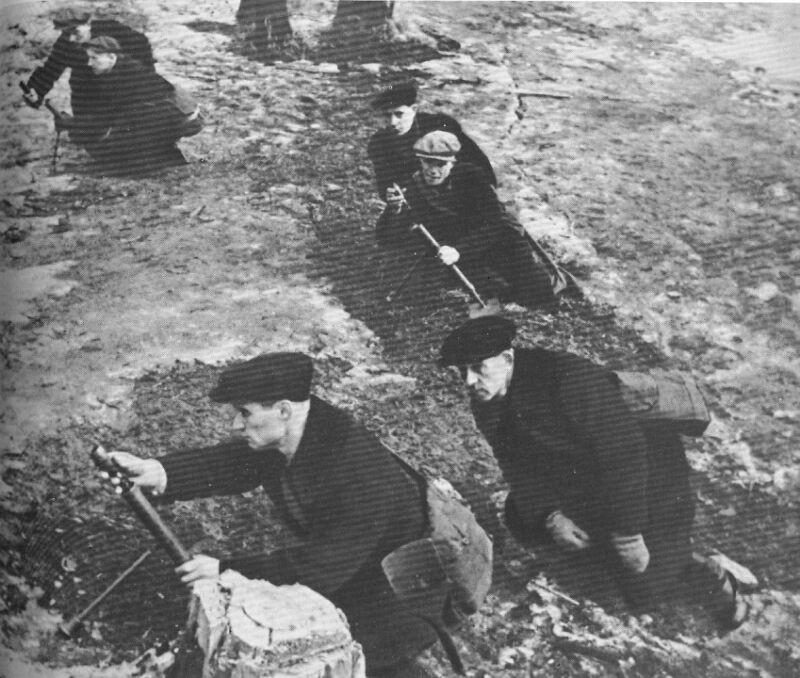 Миномёт-лопата. Великая Отечественная Война, вторая мировая война, необычное оружие