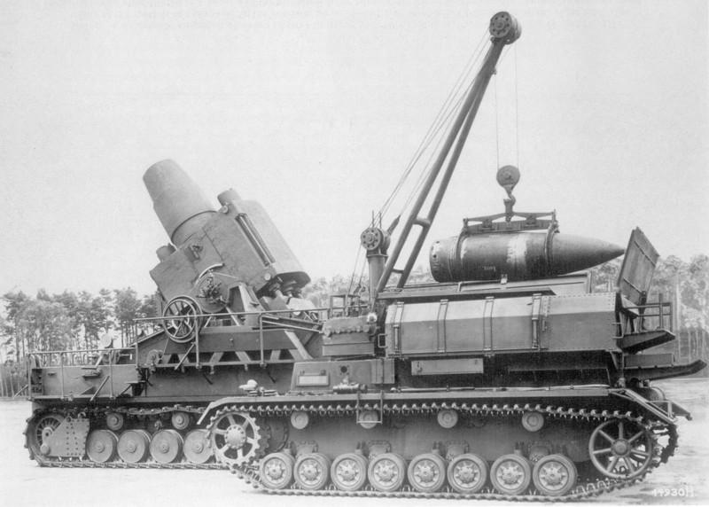 Самоходная мортира «Карл». Великая Отечественная Война, вторая мировая война, необычное оружие