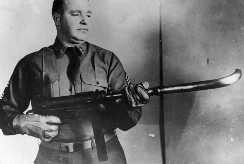 Кривоствольное оружие. Великая Отечественная Война, вторая мировая война, необычное оружие