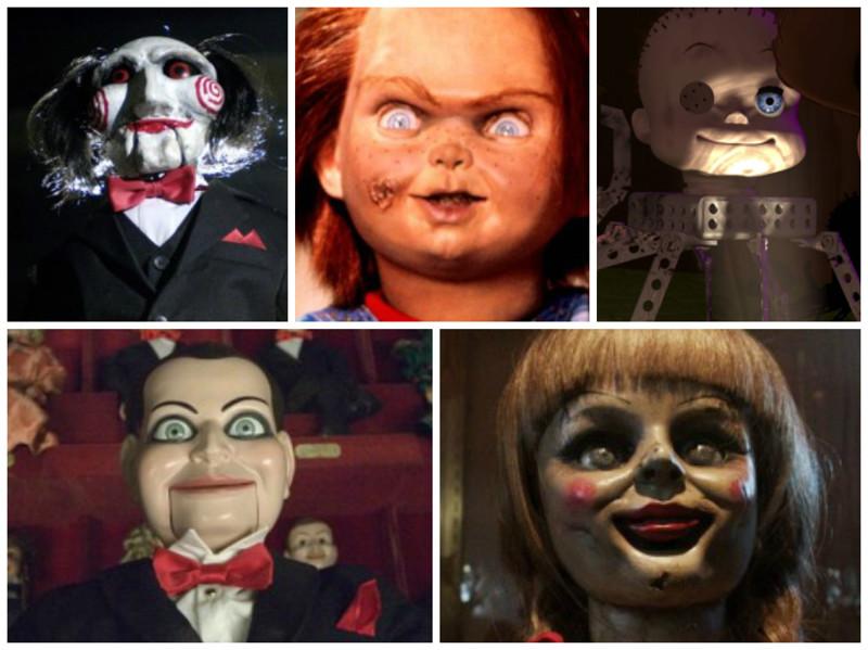 самые жуткие куклы в истории мирового кинематографа и