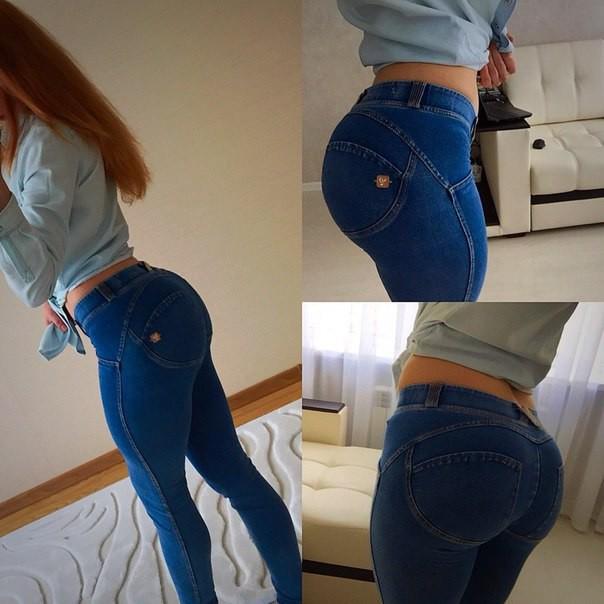 Женские задницы в джинсах видео