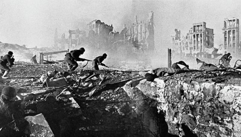 Бои в городе День воинской славы России, война, история, сталинградская битва