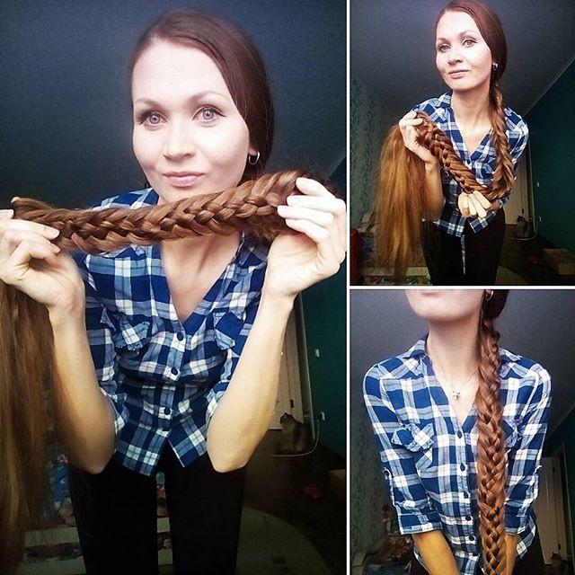 Намотать волосы на член
