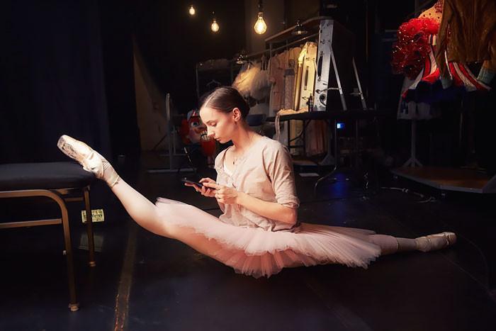7. балет, фотография
