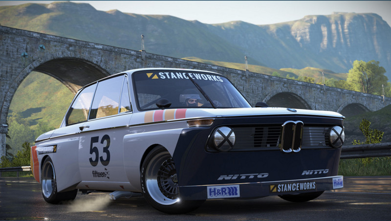 BMW 2002 Turbo Stanceworks Edition авто, видео