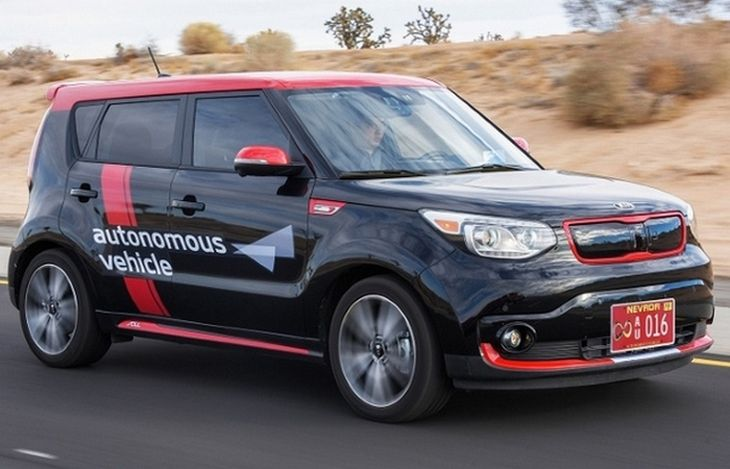 4. Kia Drive Wise Autonomous Vehicle CES, автовыставка