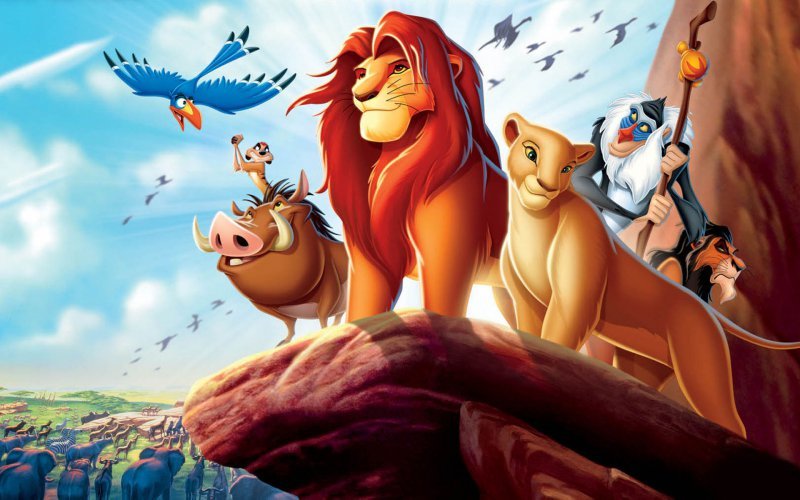 Порно катинки с героями мультфильма король лев