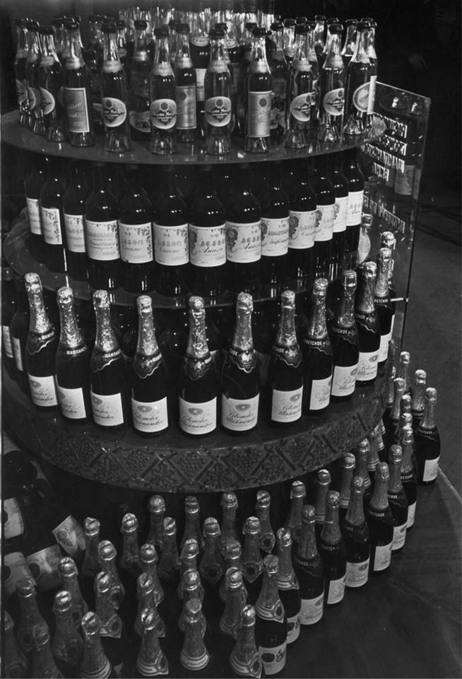 Неизвестный автор. Первая партия советского шампанского, Москва, 1937 г.  дефицит, люди, мечта