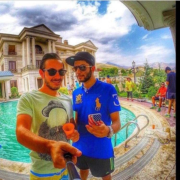 Как отдыхает золотая молодежь Ирана  богатсво, иран молодежь, люди