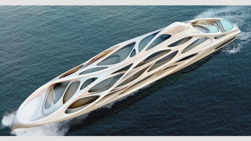 Скелетообразная конструкция дизайн, интересно, подборка, технологии, яхта