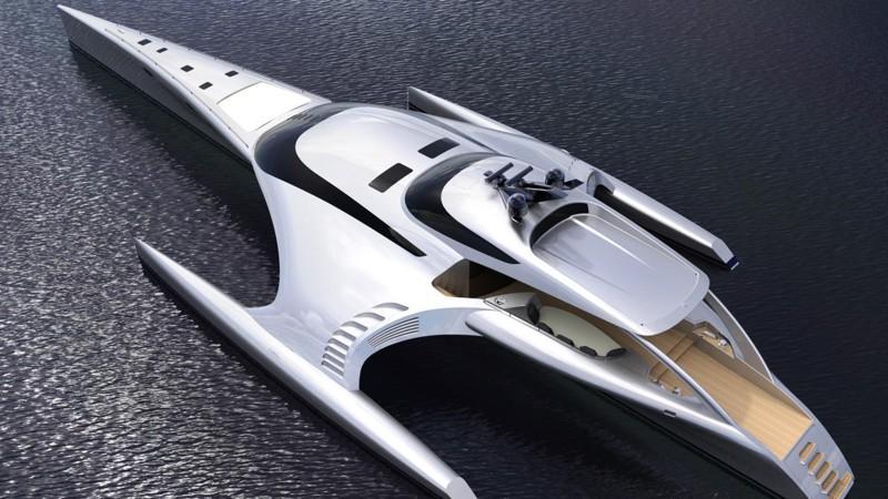 Роскошь в космическом стиле дизайн, интересно, подборка, технологии, яхта