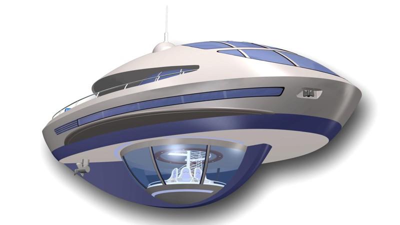 Под волной дизайн, интересно, подборка, технологии, яхта