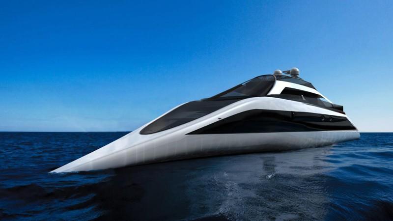 Остроносая игрушка для богатых дизайн, интересно, подборка, технологии, яхта