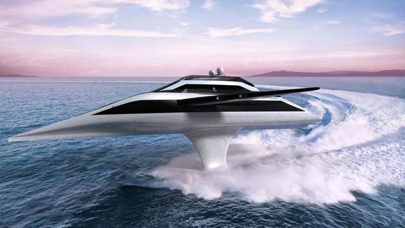Летающая яхта дизайн, интересно, подборка, технологии, яхта
