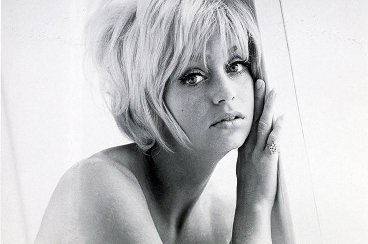 Голди Хоун были, звезды, молодость