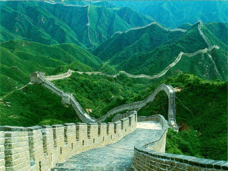 the great wall of china as a physical border