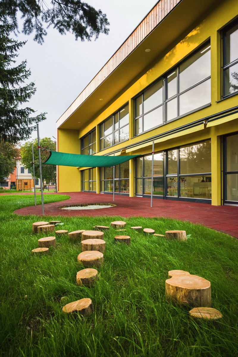 Современный детский сад в Словении дети, детский сад, словения