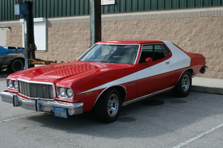 9. 1975 Форд Гран Торино - Старски и Хатч (1975 - 1979) авто, знаменитые автомобили, кино, кинотачки