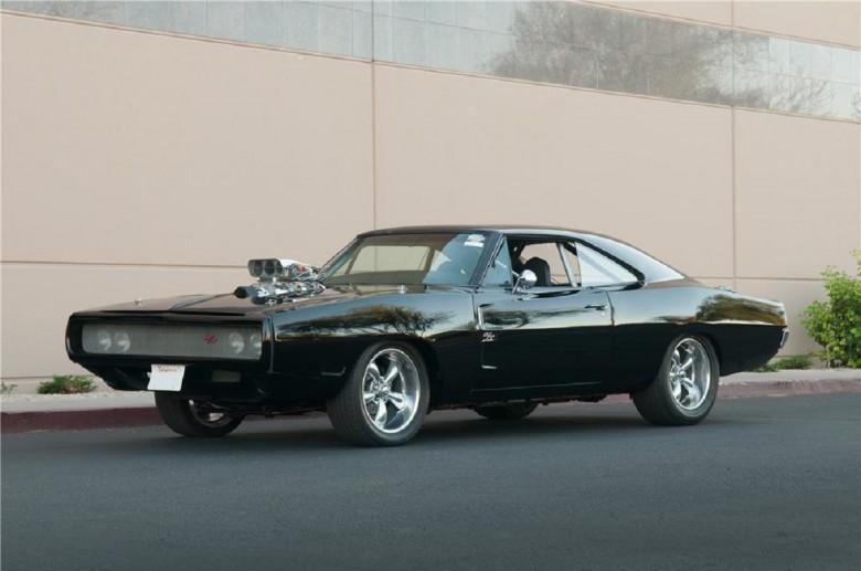 6. 1970 Dodge Charger - Форсаж (2001) авто, знаменитые автомобили, кино, кинотачки
