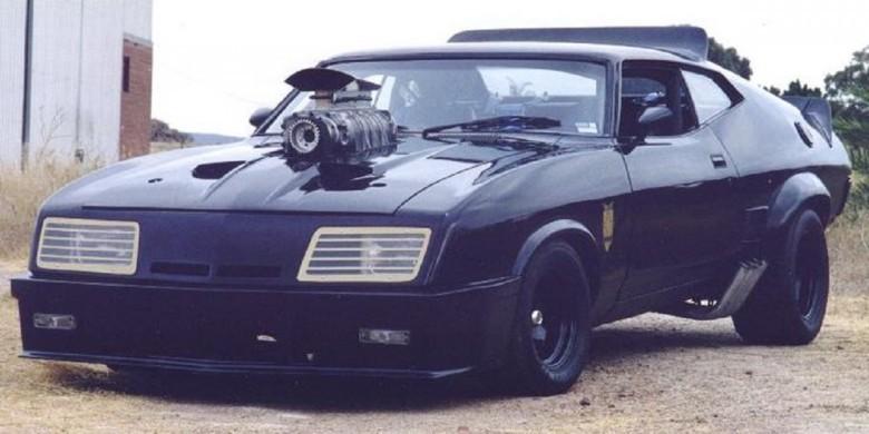 4. 1973 XB GT Ford Falcon Interceptor - Безумный Макс (1979) авто, знаменитые автомобили, кино, кинотачки