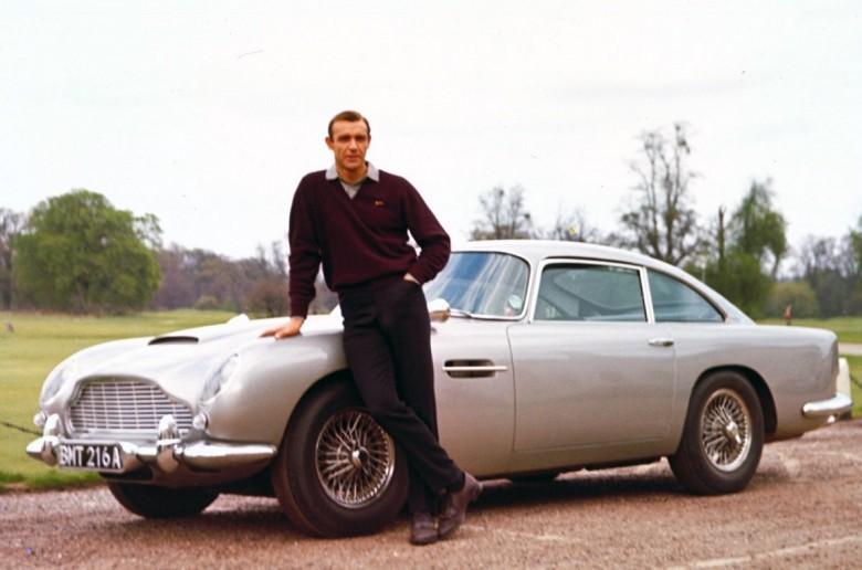 1. 1964 Aston Martin DB5 Vantage - Голдфингер (1964) авто, знаменитые автомобили, кино, кинотачки