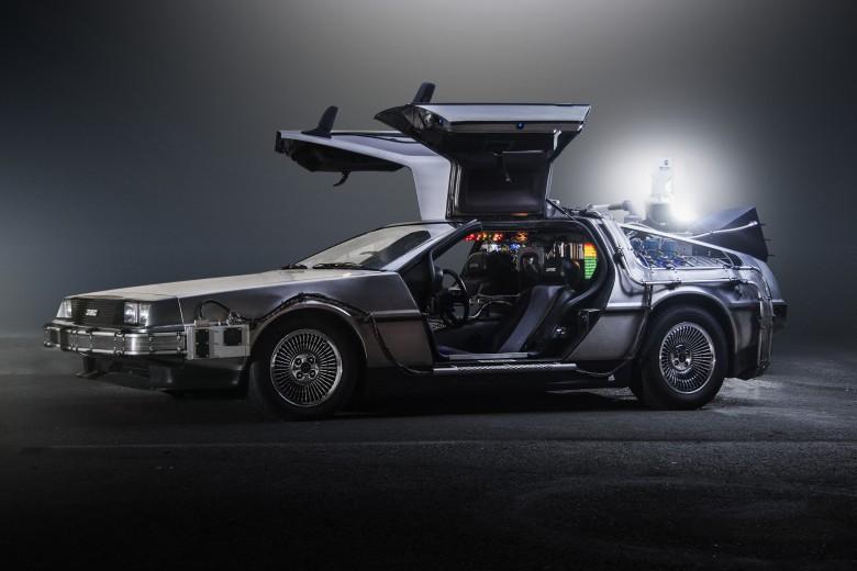 15. 1981 DeLorean DMC-12 - Назад в будущее (1985) авто, знаменитые автомобили, кино, кинотачки