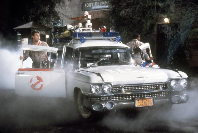 18. Cadillac Miller-Meteor 1959 - Охотники за привидениями (1984) авто, знаменитые автомобили, кино, кинотачки