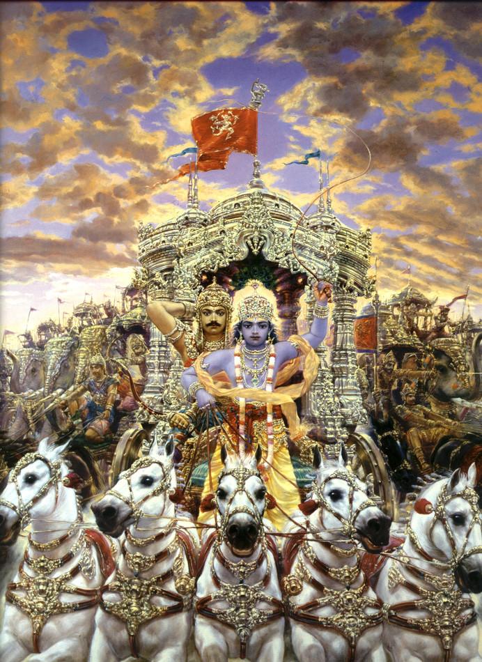махабхарата картинки к эпосу подделок