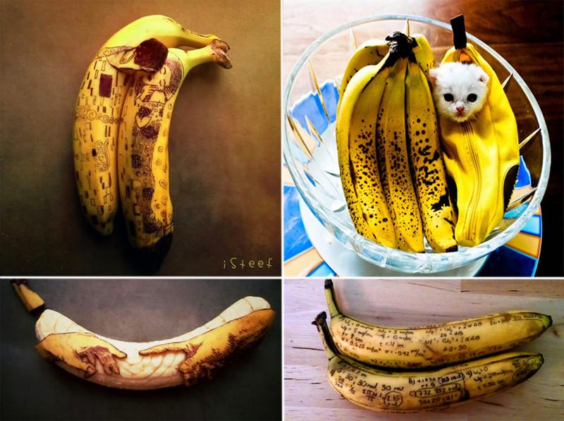этот рожицы на бананах фото девяностых