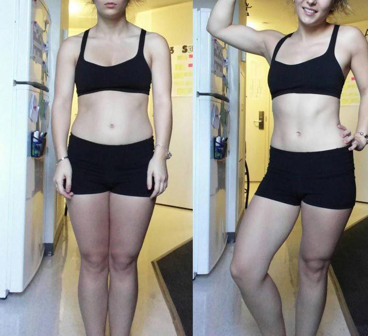 Похудеть в талии фото до и после