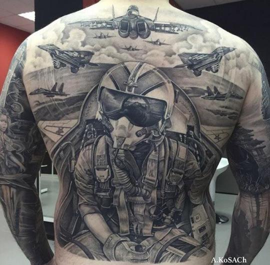 4. 3d, реализм, тату, татуировка, тело