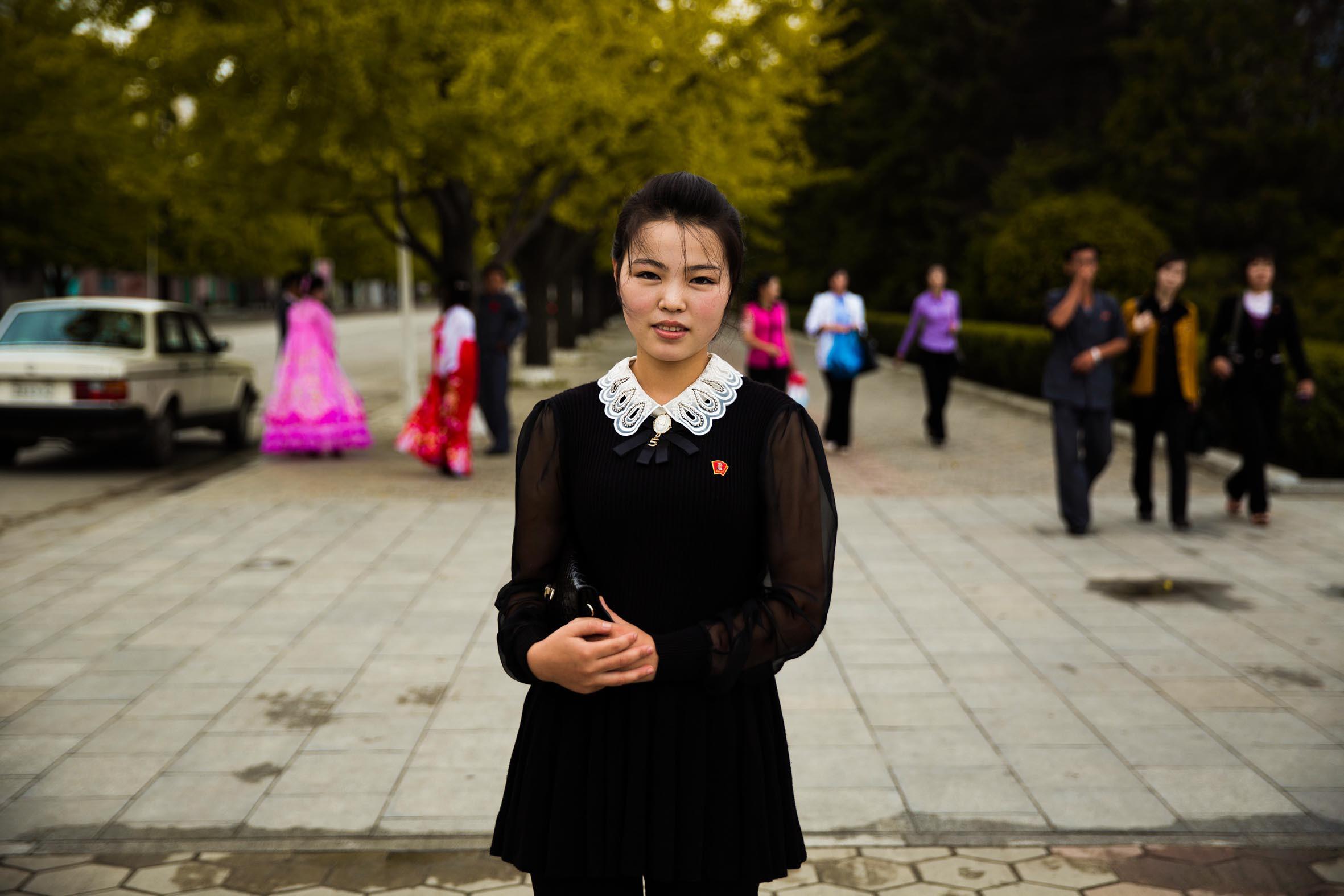 красивые северные кореянки фото случайно