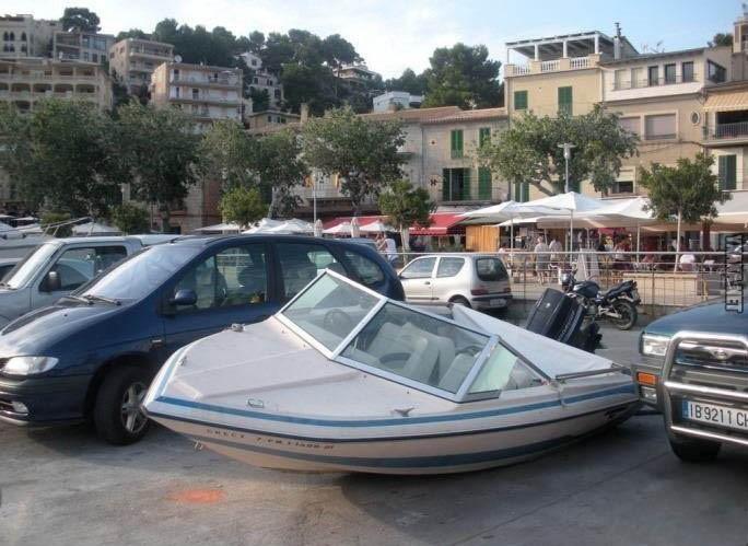 Миниатюра: «Я паркуюсь как моряк». Гений парковки, парковка, прикол, юмор