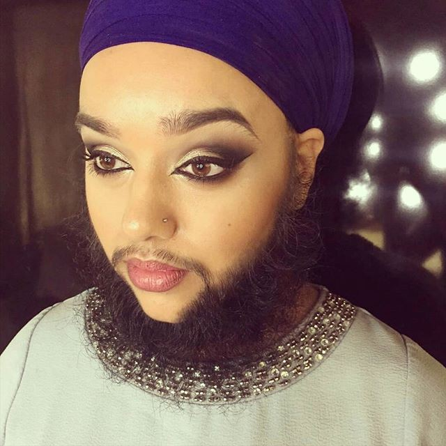 13.  борода, модель