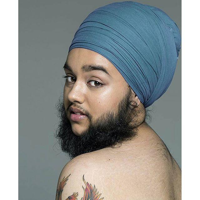 11.  борода, модель