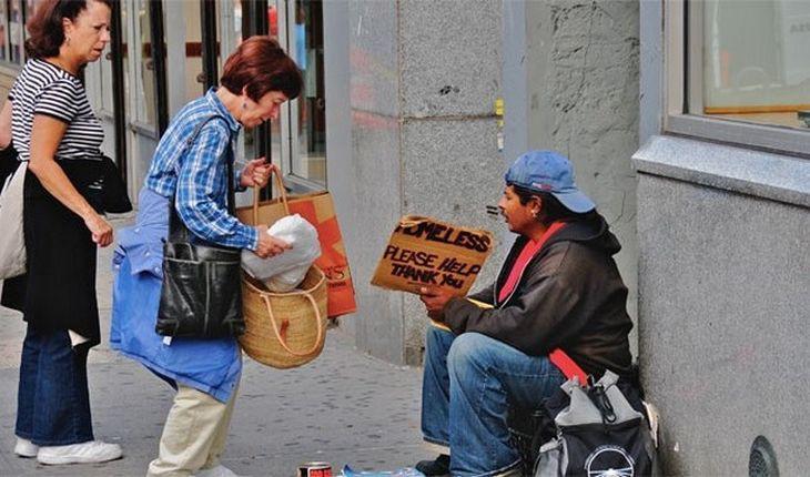 5. Нагорная проповедь отменена бездомный, бездомный человек, бомж