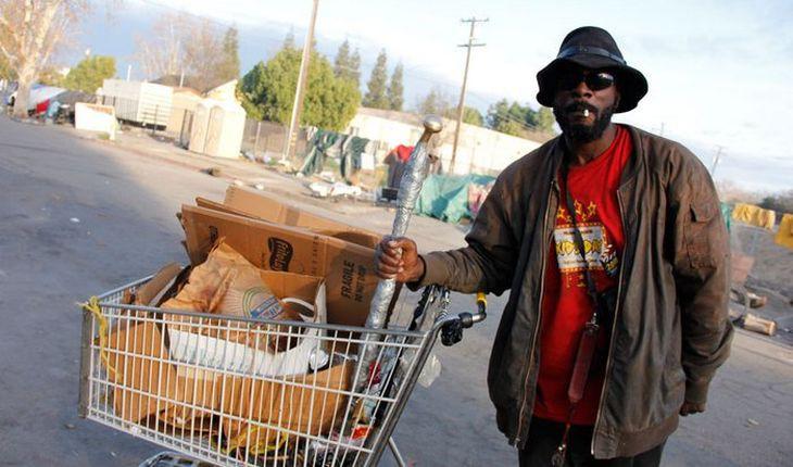 1. Богатая Калифорния - мекка бездомных бездомный, бездомный человек, бомж