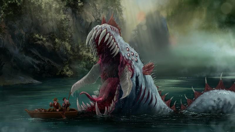 Самые жуткие монстры из озёр интересное, легенды, мифы, монстры