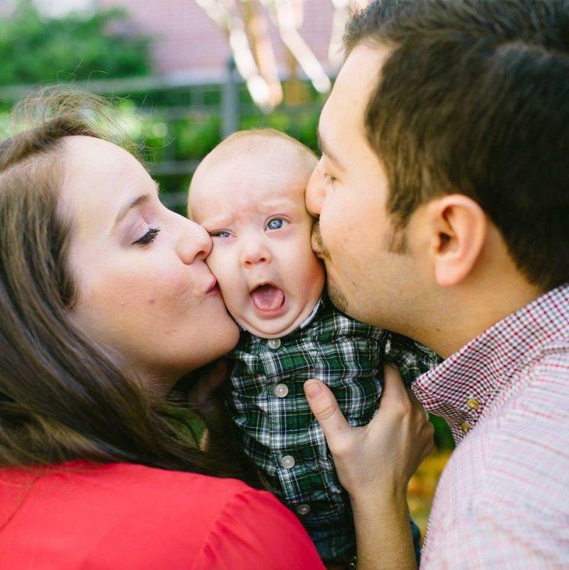 Смешные фото с детьми и родителями, января