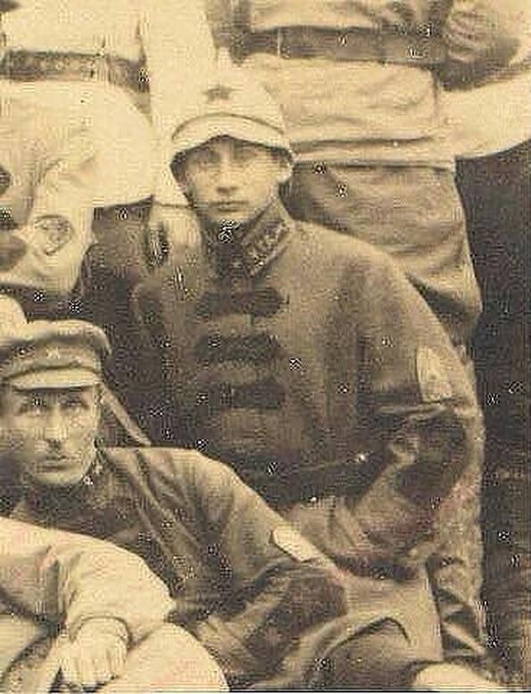 Фото Путина в гражданскую войну