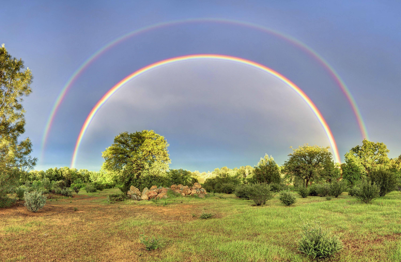 Картинки с радугой смотреть