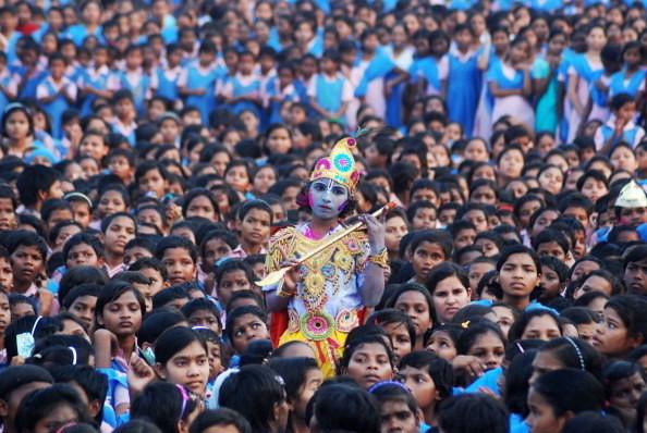 5. В 2011 году в Индии насчитывалось 315 миллионов учащихся, что вдвое выше численности населения в России. индия, интересное, население, факты