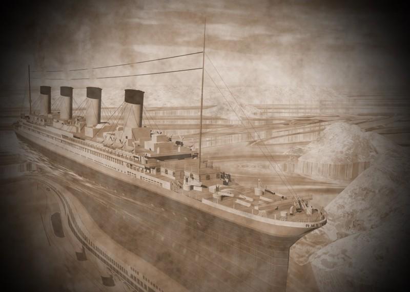 2. Роберт Баллард пытается спасти Титаник интересное, титаник, факты
