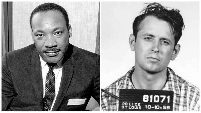 Мартин Лютер Кинг — Джеймс Эрл Рей. звёзды, знаменитости, история, убийцы